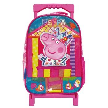 """Mochila Peppa Pig ARTpp510 con ruedas 12"""""""