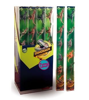 Set aminales en tubo funny land dinosaurios ARTft800 6 piezas