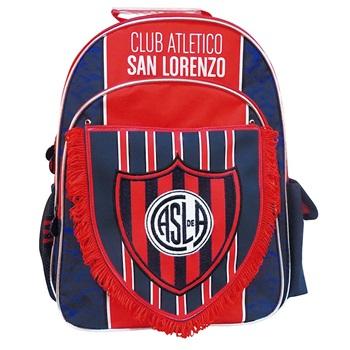 "Mochila San Lorenzo ARTsl020 espalda 16"" c/banderin"