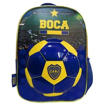 "Mochila Boca Juniors ARTbo064 espalda 12"""