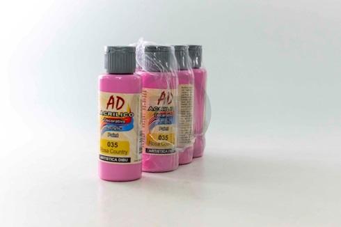 Acrílico decorativo Artística Dibu AD 60 ml 035-rosa country