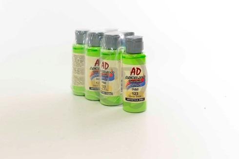 Acrílico decorativo Artística Dibu AD 60 ml 123-verde bebe