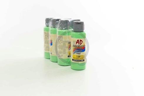 Acrílico decorativo Artística Dibu AD 60 ml 136-verde pastel