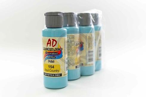 Acrílico decorativo Artística Dibu AD 60 ml 154-azul country