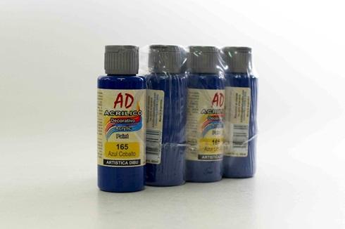 Acrílico decorativo Artística Dibu AD 60 ml 165-azul cobalto