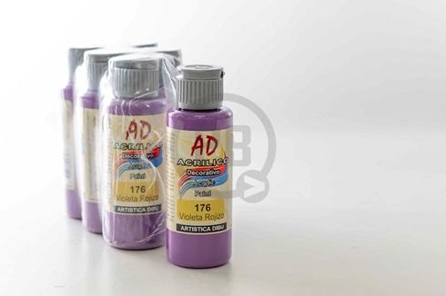 Acrílico decorativo Artística Dibu AD 60 ml 176-violeta rojizo
