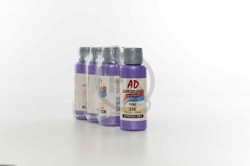Acrílico decorativo Artística Dibu AD 60 ml 236-perlado violeta