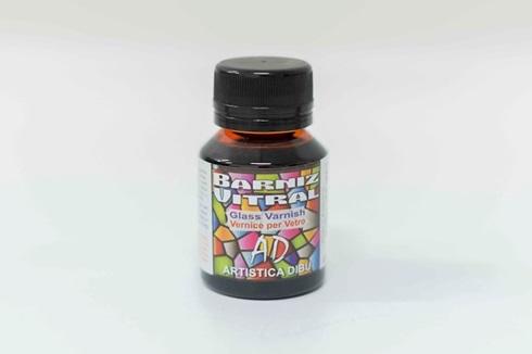 Barniz vitral Artística Dibu AD 062-naranja 50 ml