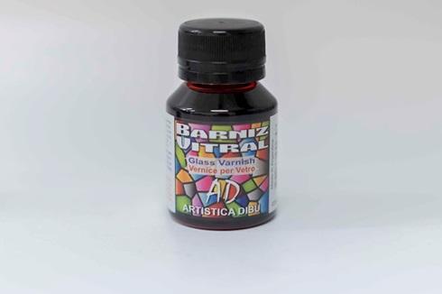 Barniz vitral Artística Dibu AD 080-rojo Artística Dibu AD 50 ml