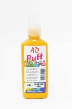 Pintura puff Artística Dibu AD 40 ml 056-amarillo oro