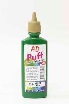 Pintura puff Artística Dibu AD 40 ml 126-verde hoja